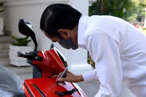 Dilelang Ulang, Pemenang Motor Listrik Jokowi Diumumkan Hari Ini