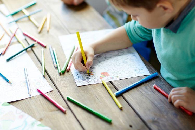Ini Tahapan Kemampuan Anak Usia Dini Menggambar Dan Mewarnai