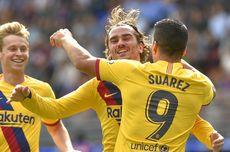 Eibar Vs Barcelona, Trio MSG Cetak Gol, Blaugrana Menang Telak