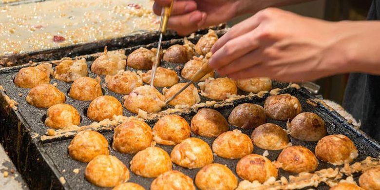 Resep Takoyaki Kuliner Khas Jepang Bisa Buat Sarapan