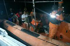 Kemudi KM Masagena Satu Patah, 10 Penumpang Dievakuasi