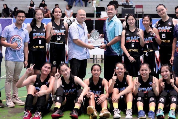 Skuad klub basket putri GMC Cirebon untuk Srikandi Cup 2020