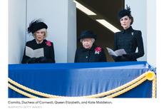 Remembrance Sunday, Kenapa Kate dan Meghan Berdiri di Balkon Terpisah?