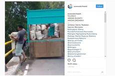 Polisi Tangkap Pembuang Berkarung-karung Sampah di Sungai Wonosobo