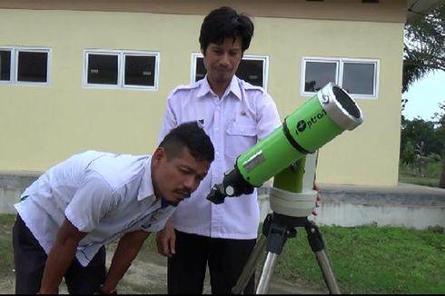 Teleskop Canggih Bekas GMT Digunakan untuk Melihat Gerhana Bulan di Bangka