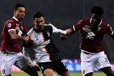 Dua Spanduk Protes soal Rencana Melanjutkan Serie A