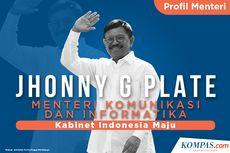 [INFOGRAFIK] Profil Johnny G Plate, Menkominfo