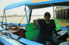 Cerita Pengemudi Perahu Ketek, Berputar-putar di Sungai Musi karena Tertutup Asap