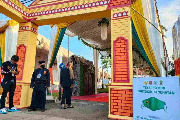 Festival Adat Kerajaan Nusantara 1 siap dilaksanakan di Kabupaten Sumedang dengan protokol kesehatan ketat, Selasa (29/9/2021).