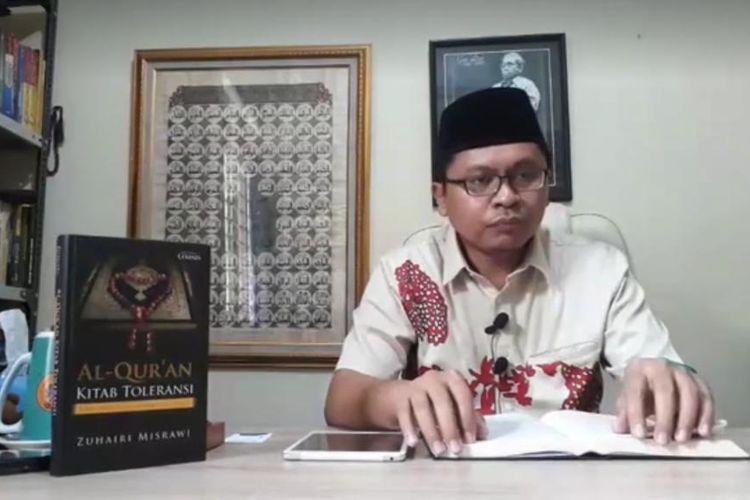 Zuhairi Misrawi, saat menjabat Juru Bicara Tim Kampanye Nasional Jokowi-Maruf.