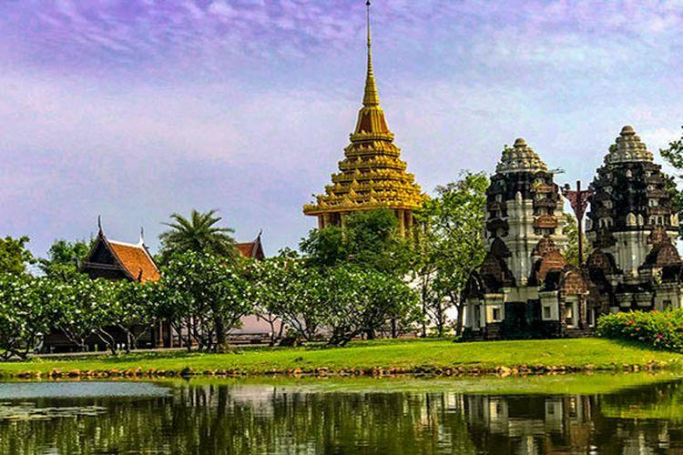 Salah Satu Bagian Ancient City, Muang Boran, Thailand