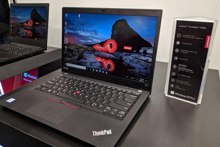 Ilustrasi Lenovo ThinkPad T490s