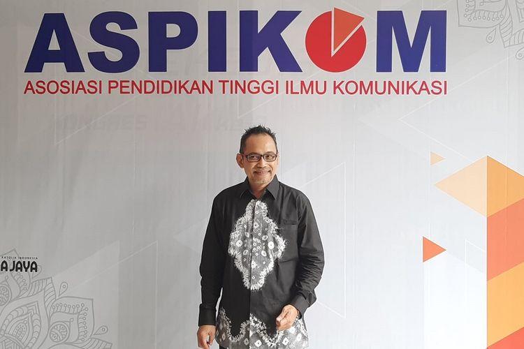 Ketua Umum Asosiasi Program Studi Ilmu Komunikasi (Aspikom) pusat periode 2019-2022 Dr Muhammad Sulhan, MSi.
