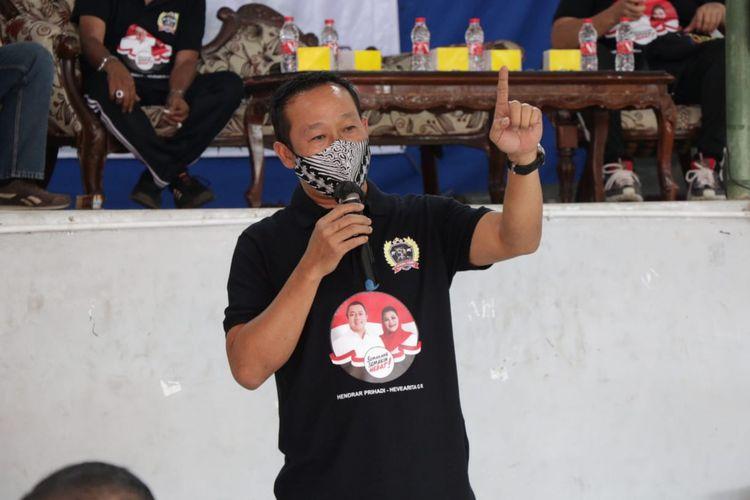 Ketua Tim pemenangan pasangan calon petahana Wali Kota dan Wakil Walikota Semarang, Hendrar Prihadi dan Hevearita Gunaryanti Rahayu (Hendi-Ita), Kadarlusman