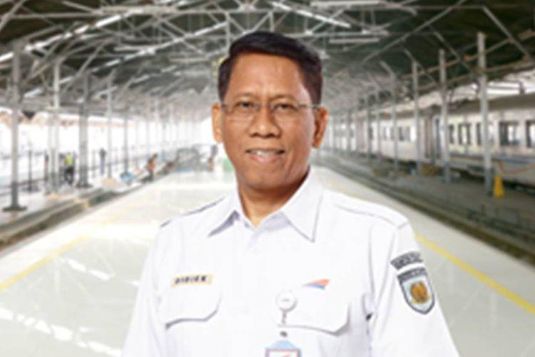Direktur Utama PT KAI Didiek Hartantyo.