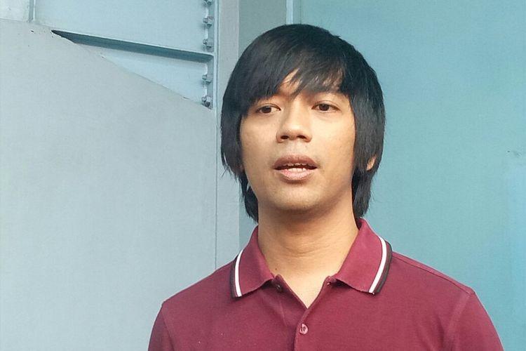 Rian DMASIV saat diwawancarai di kawasan Tendean, Jakarta Selatan, Senin (8/1/2018).