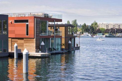 Desain Rumah Terapung Makin Digandrungi