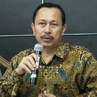 Ketua Komnas HAM, Ahmad Taufan Damanik ketika ditemui di Kantornya, Jakarta, Senin (4/6/2018).