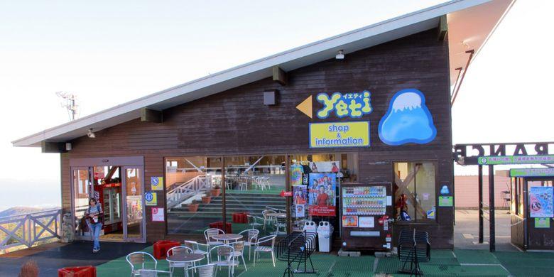 Beragam fasilitas tersedia di Yeti Snow Resort, Jepang.