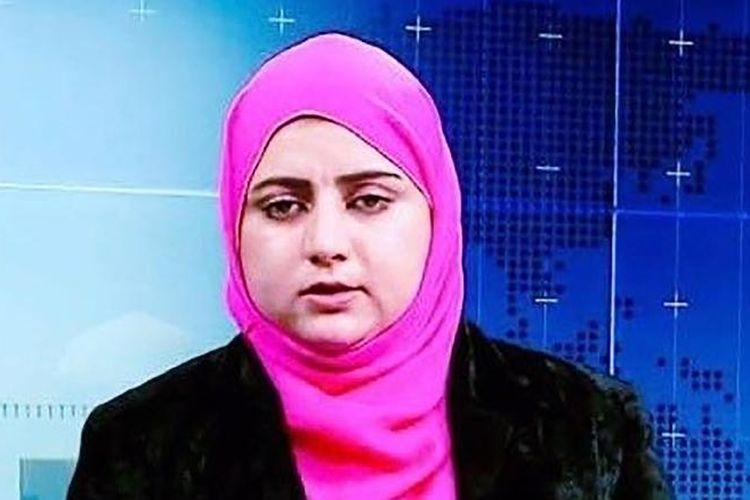 Malalai Maiwand, jurnalis wanita di Afghanistan yang ditembak mati oleh militan.