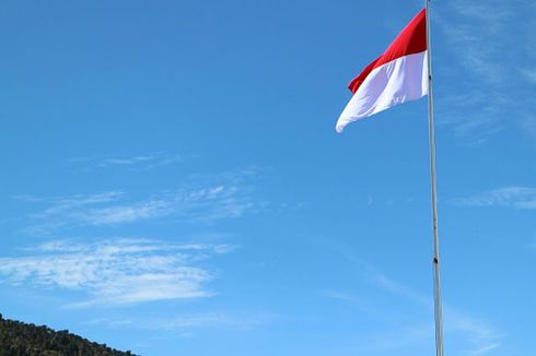 Simbol Negara Bendera Merah Putih