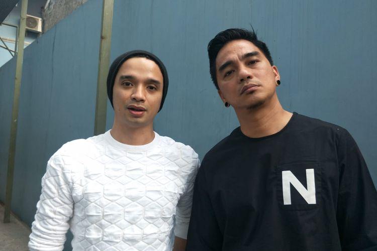 Oncy dan Enda Ungu saat ditemui di kawasan Tendean, Jakarta Selatan, Rabu (31/7/2019).