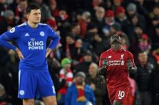 Liverpool Vs Leicester City Imbang, The Reds Tetap Kokoh di Puncak