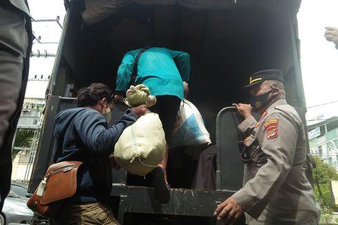 Kisah 8 Buruh Bangunan Asal Sumedang Terlunta-lunta di Lampung, Ditipu Pemborong di Banyuasin, Diantar Dinsos Sumsel Hanya sampai Lampung