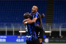 HT Benevento Vs Inter Milan - Lukaku Cetak Gol Kilat, Nerazzurri Unggul Telak