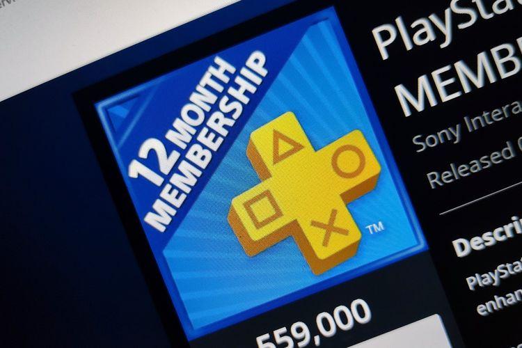 Ilustrasi PlayStation Plus.