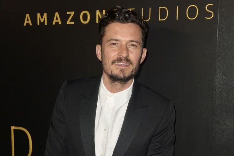 Aktor Orlando Bloom menghadiri pesta Amazon Studios Golden Globes After Party di The Beverly Hilton Hotel, Beverly Hills, California, pada 5 Januari 2020.