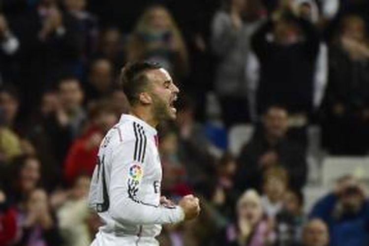 Gelandang Real Madrid, Jese Rodriguez.