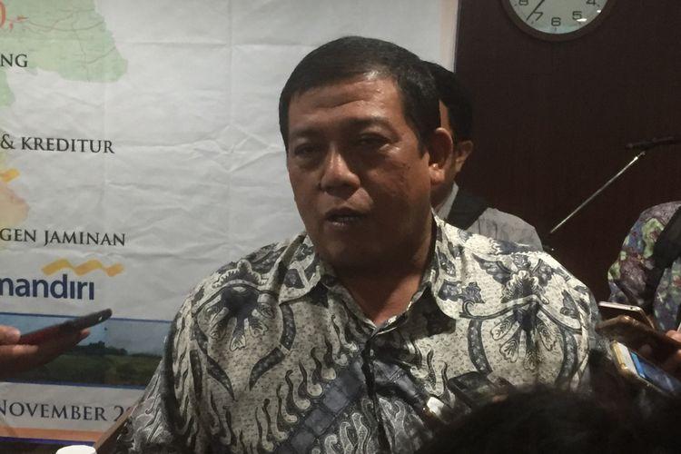 Direktur Utama PT Wika Serang Panimbang (WSP) Entus Asmawi.
