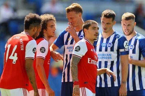Hasil Liga Inggris - Leicester City Imbang, Arsenal Tumbang