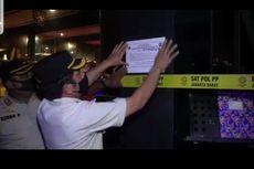Gelar Karaoke-Live Music dan Langgar Prokes, Tempat Hiburan di Tamansari Disegel Satpol PP