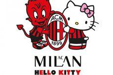 Hello Kitty Jalin Kerja Sama dengan AC Milan