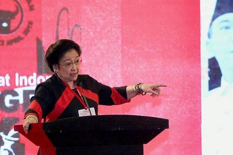 Ketua Umum PDI Perjuangan Megawati Soekarnoputri.