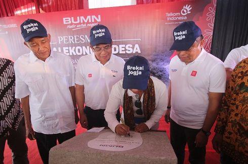 Berdayakan Perekonomian Pedesaan, TelkomGroup Bangun Balkondes