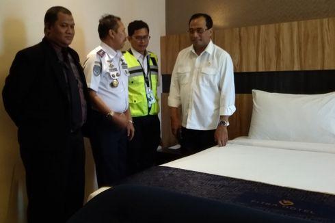 Penerbangan Haji di Bandara Kertajati, Menhub Tinjau 3 Hotel untuk Jemaah