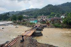 Kesal dengan Janji Pemerintah, Warga 14 Desa di Lebak Banten Patungan Bangun Jembatan