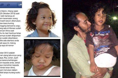 Berkat Media Sosial, Bocah Hilang di Monas Akhirnya Ditemukan
