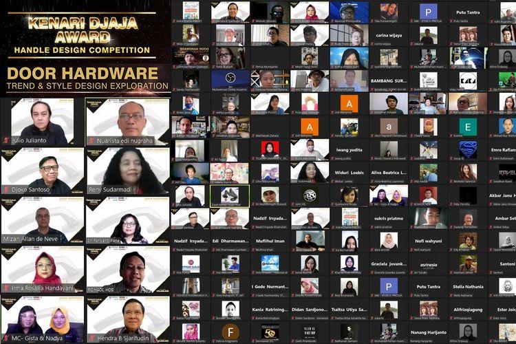Mempertimbangkan pentingnya pintu beserta kelengkapannya, PT Kenari Djaja Prima bersama Himpunan Desainer Interior Indonesia (HDII) menggelar Kenari Djaja Awards 2021.
