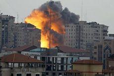 Balas Serangan Roket, Jet Tempur Israel Kembali Serang Gaza