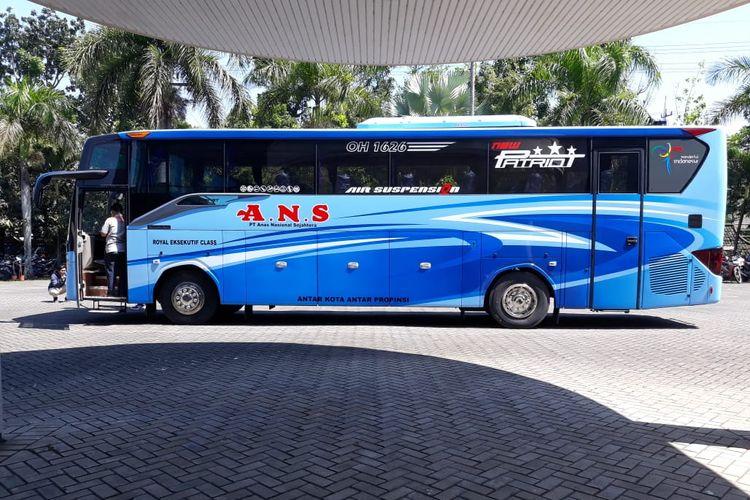 Bus AKAP baru PO ANS