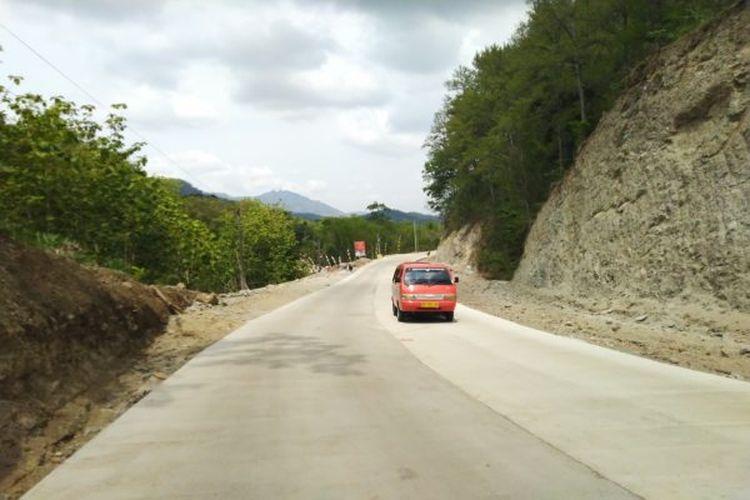 Jalan Lingkar Kota (JLK) di Segmen 2, Dusun Sumber, Desa Pare, Selogiri, Wonogiri