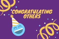 Congratulating: Memberi Selamat dalam Bahasa Inggris