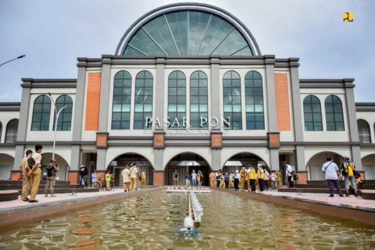 Pasar PON di Jawa Timur siap diserahterimakan