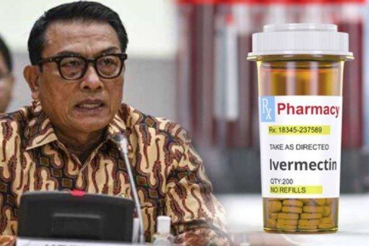 Kepala Staf Kepresidenan Moeldoko mengklaim, sebanyak 15 negara menekan kasus Covid-19 karena menggunakan obat Ivermectin.