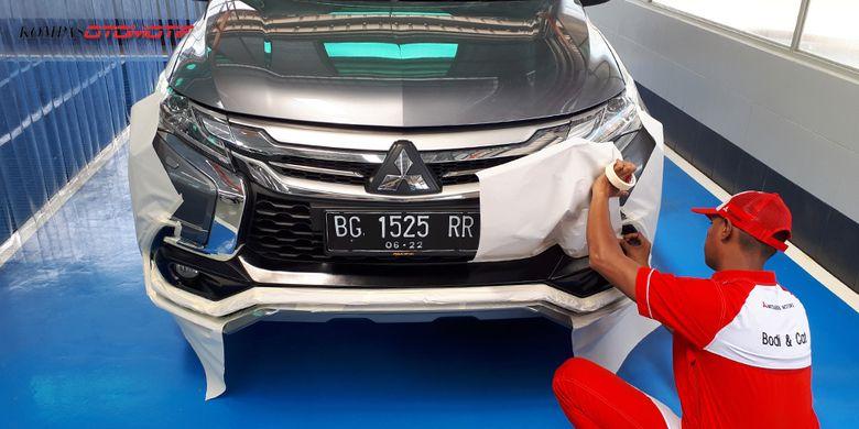 Perbandingan Harga Ngecat Mobil Di Pinggir Jalan Dan