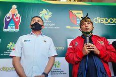 Bupati Bandung Persilakan Persib Latihan di Lapangan Sabilulungan